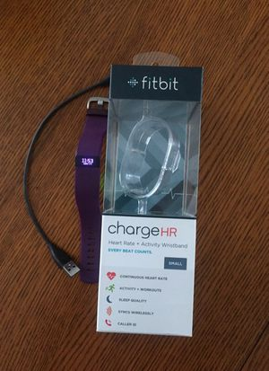 Fitbit HR - size small for Sale in Houston, TX