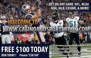 FREE $100 When You Sign Up Today - Bet on NFL, NCAA, Black Jack, Poker, and More! for Sale in Dallas, TX