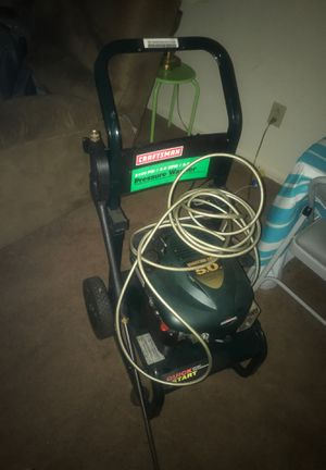 craftsman 2100 psi 2.0 GPM 5.0 HP Pressure washer for Sale in Baltimore, MD