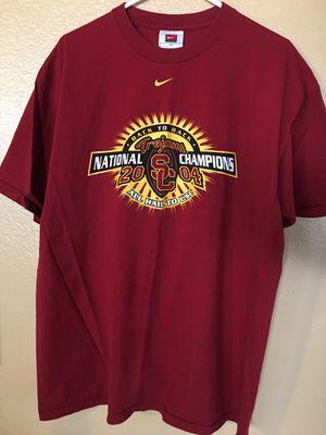✌️• USC Trojans Vintage Nike National Champions Tee for Sale in Las Vegas, NV