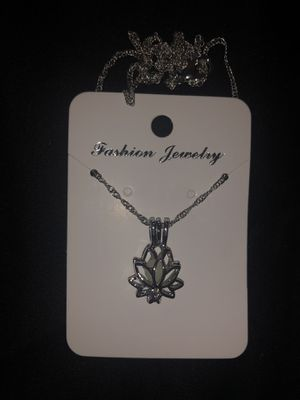 Lotus flower necklace for Sale in Mineola, TX