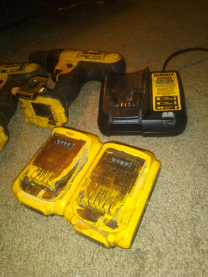 2 DeWalt drills w/ battery and charger for Sale in Springdale, AR