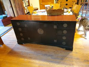 Antique Chinese Credenza/Buffett/Cabinet for Sale in Oregon City, OR