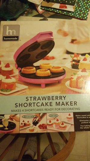 Homemade strawberry shortcake maker for Sale in Eau Claire, WI