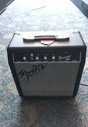 Fender guitar amp frontman 10G pro audio amp guitar bass music BCP007031 for Sale in Huntington Beach, CA
