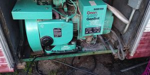 RV READY! 4000 w generator onan - Less than 500 hours for Sale in Eugene, OR