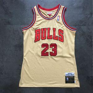 Michael Jordan - Chicago Bulls Jersey - #23 Premium Gold - Size Medium for Sale in Westminster, CA