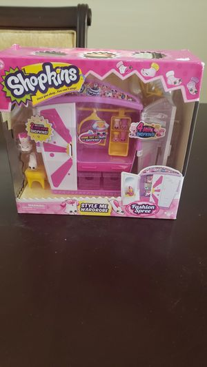 Shopkins style me wardrobe for Sale in Bakersfield, CA
