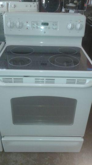 Glass stove white for Sale in Tampa, FL