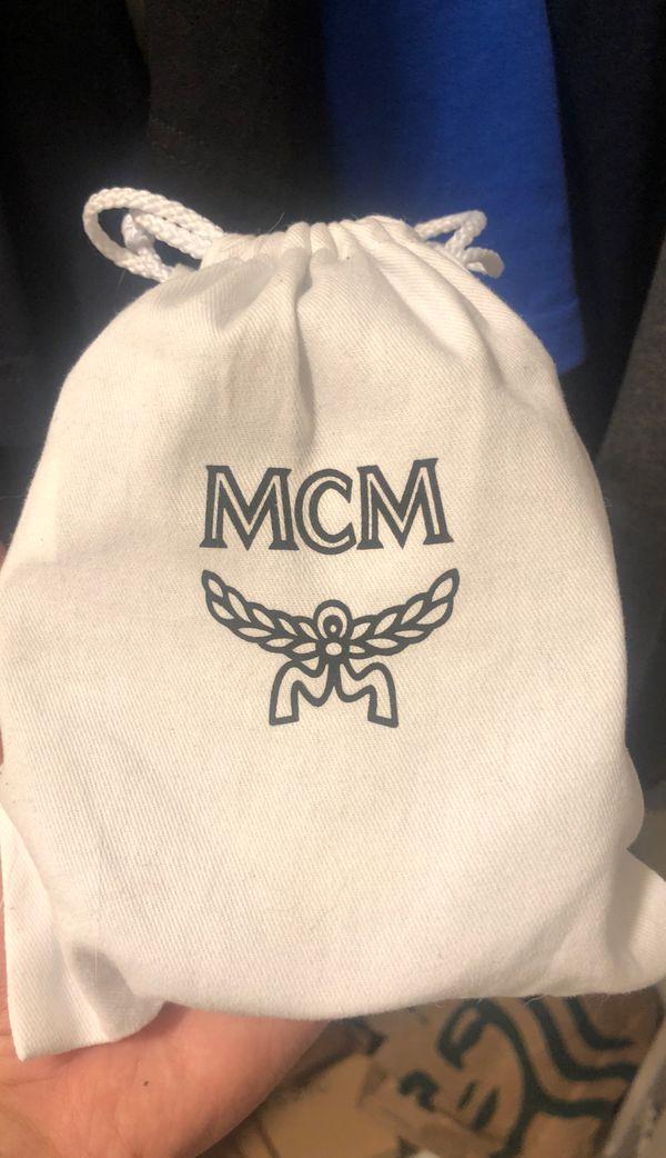 Blue mcm belt