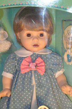 Baby So Beautiful Playmates Doll 1990 Blonde w/ Blue Dress for Sale in Beaverton,  OR
