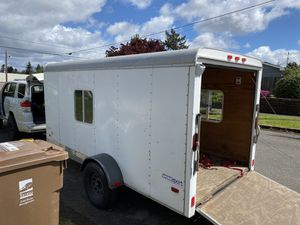6x12 encloses/cargo/box trailer for Sale in Tacoma, WA