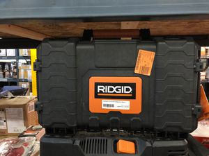 Ridgid tool box for Sale in Phoenix, AZ