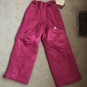 New Snow Pants Girls 7-8 Pink Rugged Bear New With Tags for Sale in Aston, PA