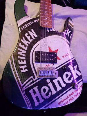 Electric guitar heineken for Sale in Romeoville, IL