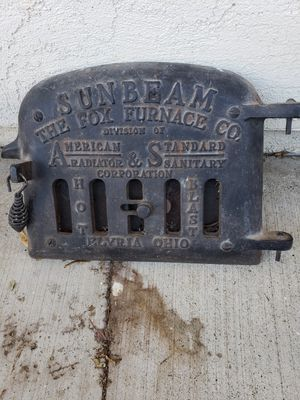 Antique furnace cover for Sale in Suisun City, CA