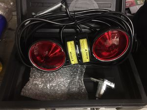 Road master tow lights with magnetic base and carrying case for Sale in Jurupa Valley, CA