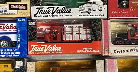 True Value Model Trucks New In Boxes 9 Pcs for Sale in Costa Mesa,  CA