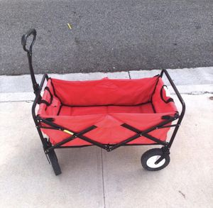 Folding Wagon Red for Sale in Corona, CA