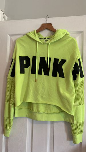 Victoria's Secret Pink high low crop hoodie for Sale in Washington, DC
