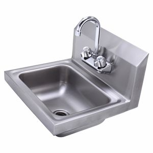 Silver Handmade Stainless Steel Single Basin Mount Sink for Sale in Irvine, CA