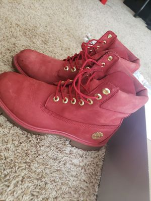 Timberland Ruby fire reds. Size 8.5 for Sale in Denver, CO