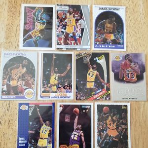 James Worthy Lakers NBA basketball cards for Sale in Gresham, OR