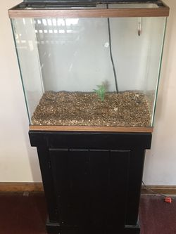 15 Gallon Tank With Stand for Sale in Lakewood,  OH