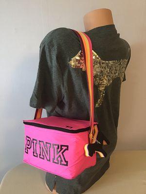 New Victoria's Secret vs pink beach mini cooler bear bag for Sale in Boston, MA