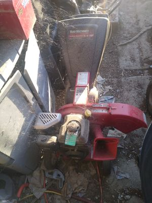 Gasoline wood chipper works great for Sale in Perris, CA