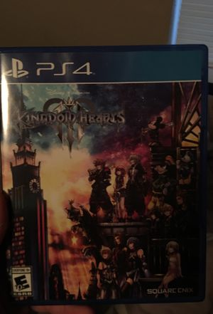 Kingdom Hearts 3 PS4 for Sale in Round Rock, TX