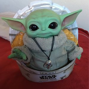 "The Child 11"" Plush Baby Yoda Mattel for Sale in Concord, CA"