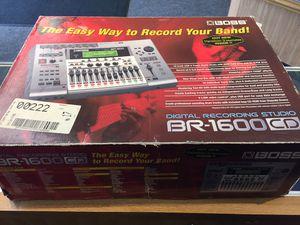 Boss BR-1600CD Recording Studio Version 2 for Sale in Lynnwood, WA