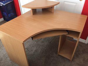Wooden Corner Desk for Sale in Las Vegas, NV