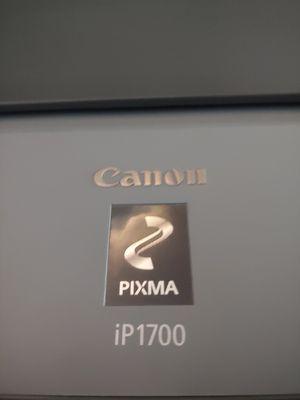 Canon photo printer pixma ip1700 for Sale in Justice, IL
