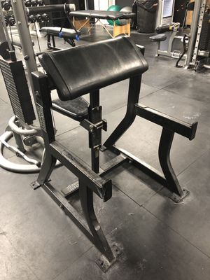 Hammer Strength Preacher Curl for Sale in Fairfax, VA