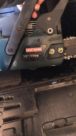 "Craftsman chainsaw 18"" for Sale in Wichita,  KS"