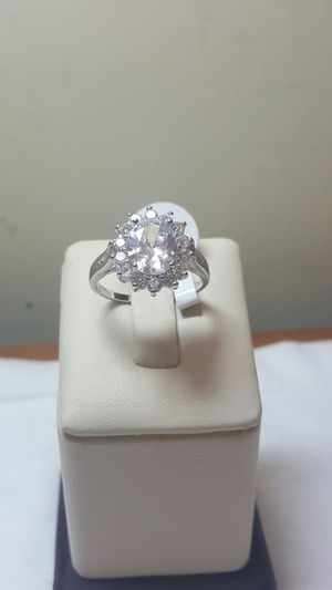 925 sterling silver white color ring for Sale in Philadelphia, PA