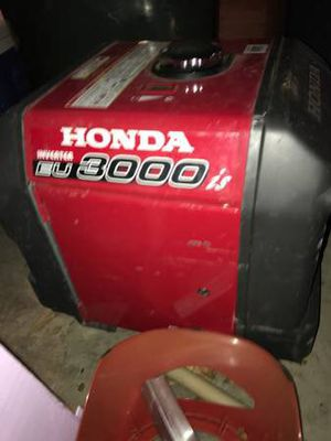 Honda Generator 3000w for Sale in Austin, TX