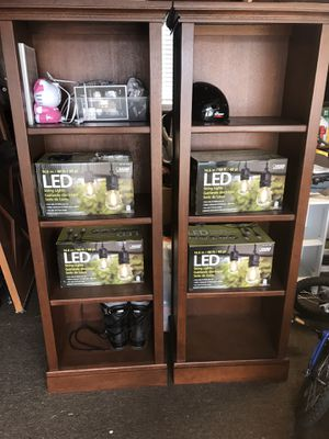 Beautiful excellent condition Pottery Barn Bookshelves for Sale in Fullerton, CA