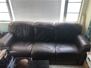 Free Leather Couch for Sale in New Port Richey, FL