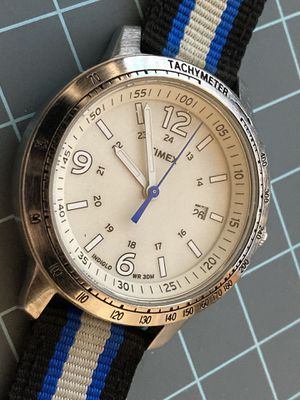 Timex indiglo Quartz Mens Watch Blue Band for Sale in Orlando, FL