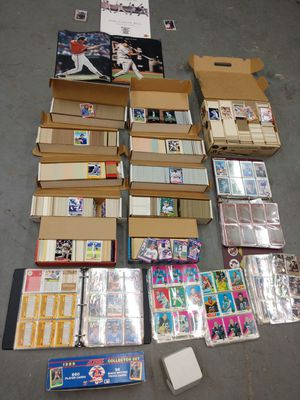 Huge collection of baseball cards for Sale in Hyattsville, MD