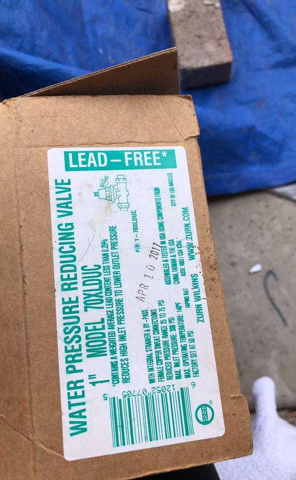 Water Pressure Reducing Valve Zurn Wilkins for Sale in City of Industry, CA  - OfferUp