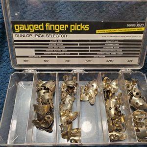 Dunlop Gauged Finger Picks for Sale in Everett, WA