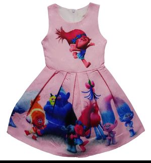 Nuevos vestidos trolls poppy y L.O.L size 7/8 for Sale in Irving, TX