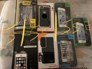 IPHONE CASES & SCREEN PROTECTORS 5/6/7/8 S&PLUS for Sale in Everett, MA