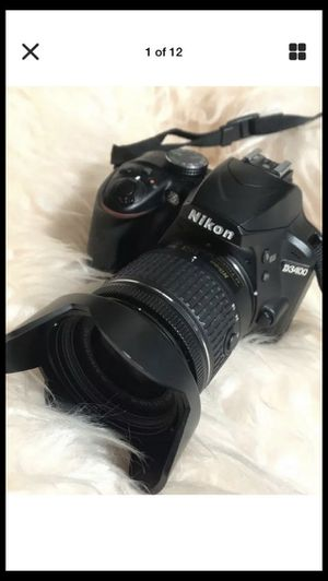 Nikon D3400 with 35/55mm Nikon Nikkor lens for Sale in The Bronx, NY