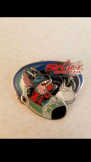 Disney Mickey's Pin Odyssey Stitch SPACE MOUNTAIN Moving Trading Pin for Sale in Los Angeles, CA