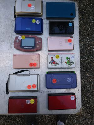 Nintendo game bundle for Sale in Roosevelt, AZ